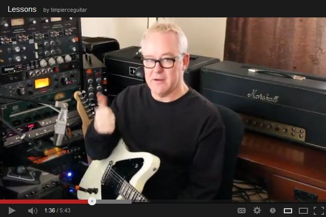 Session Guitar Recording Lesson 1 with Tim Pierce