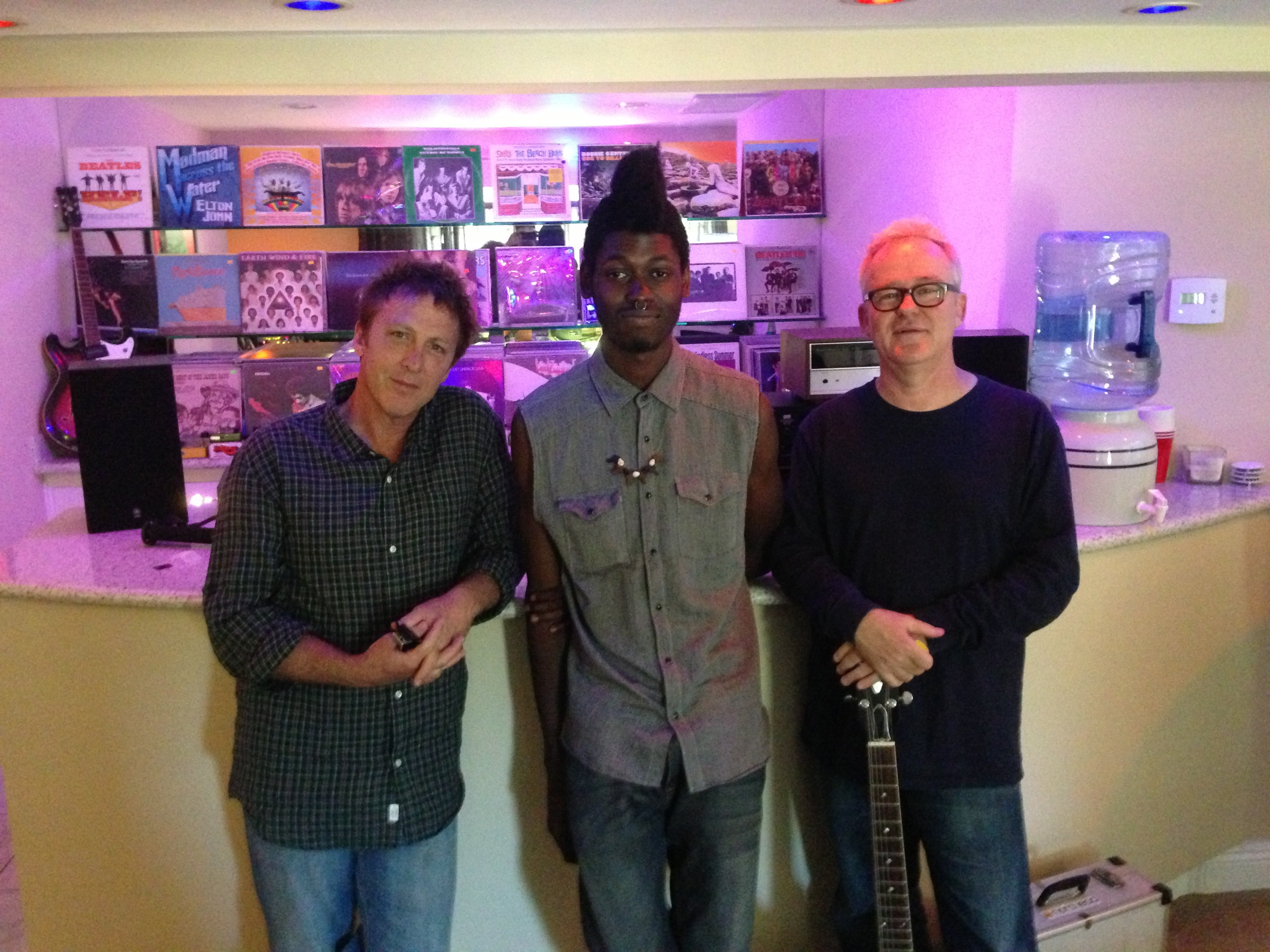 Tim Pierce With Greg Townley and Lesedi Lofi.
